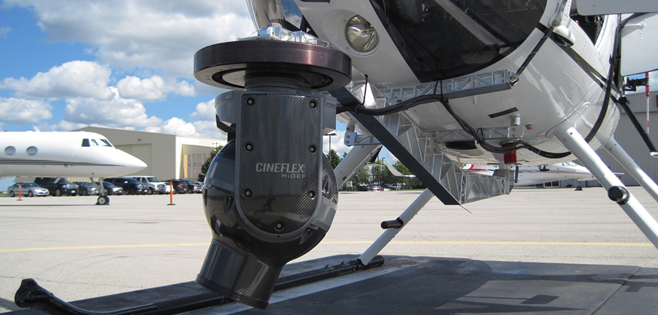 Helicopter Camera Bracket for the MD500
